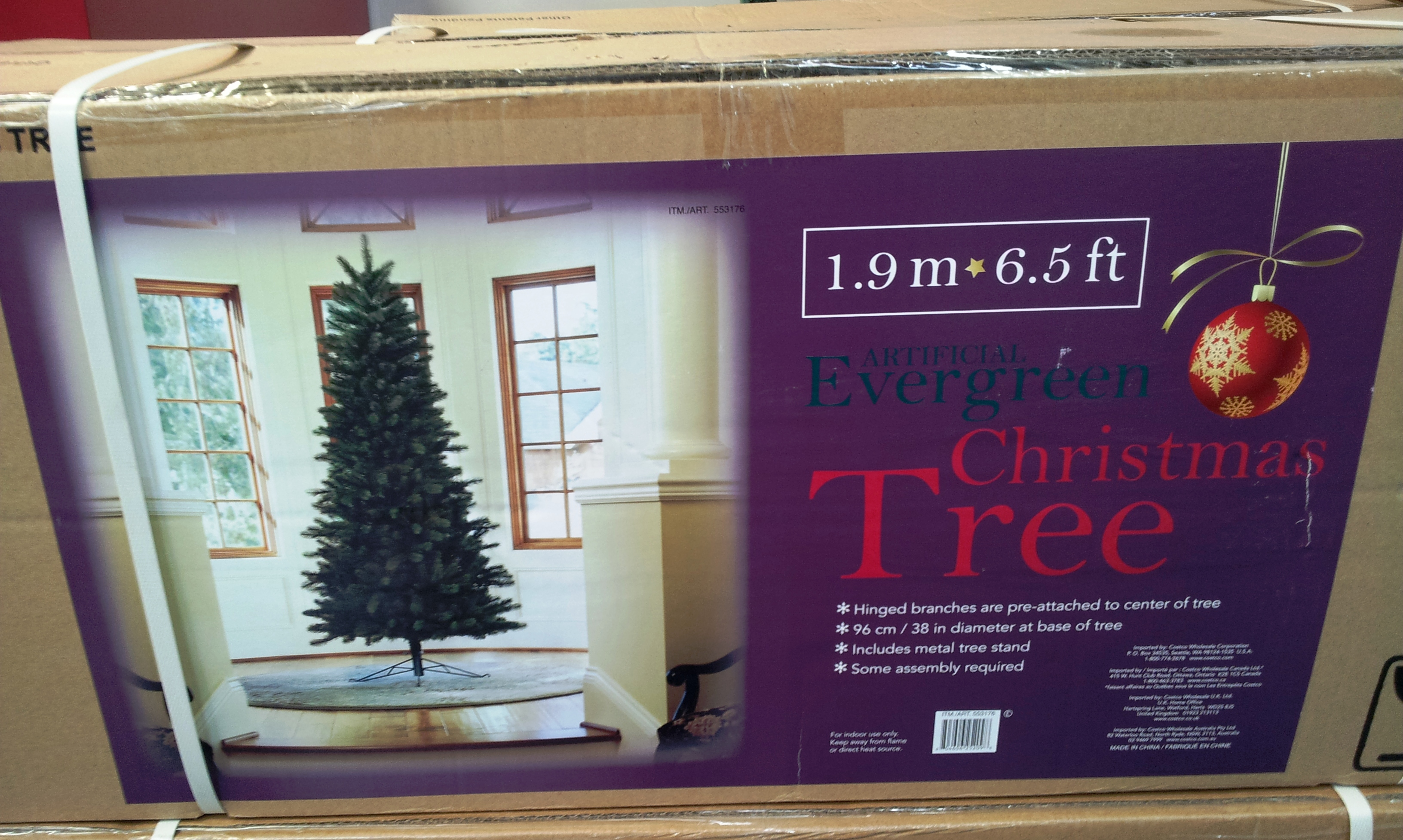 moving on to item no3 yes its bigger this christmas tree stands at 228m 75fft with and almost 15m diameter - Costco Christmas Decorations 2017 Australia