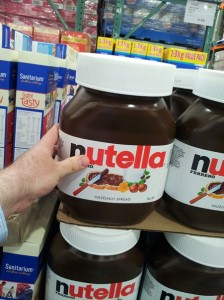 5 kilos of nutella it s a costco thing loaded trolley