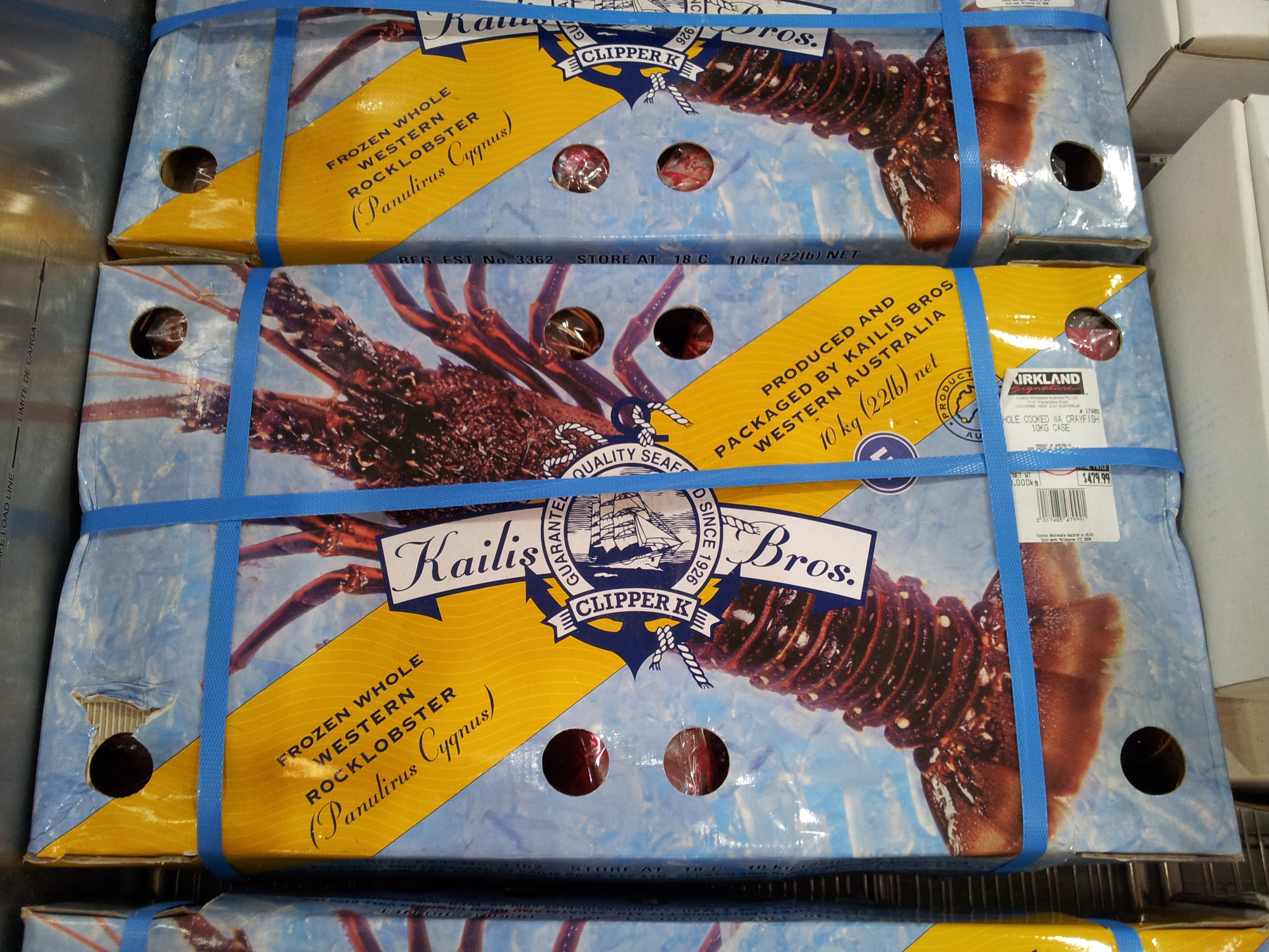 Seafood at Costco Australia | Loaded Trolley