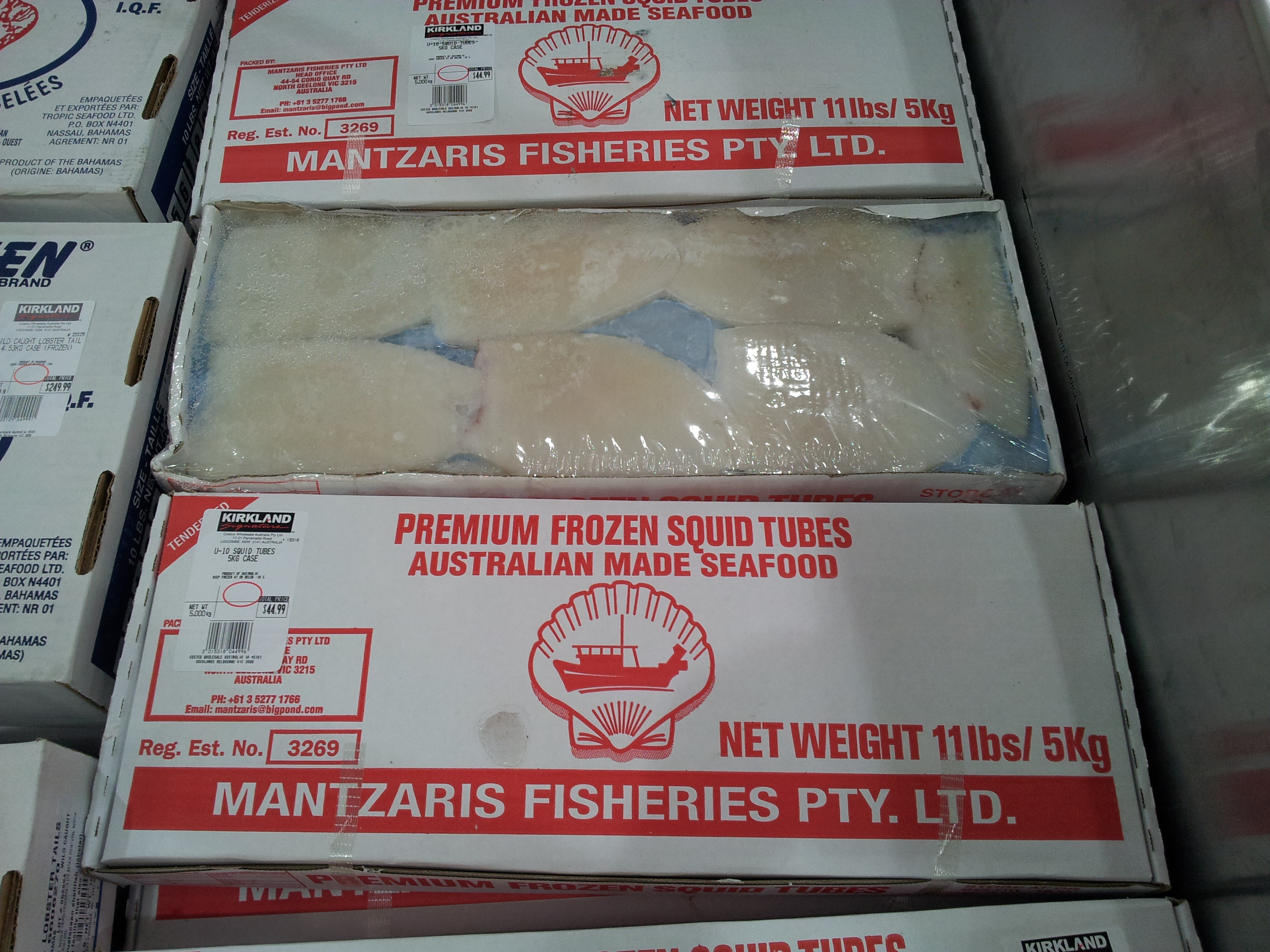 Seafood at Costco Australia | Loaded Trolley