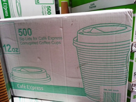 Cafe Express Insulated Disposable Coffee Cup Lids for 354ml 200x pack