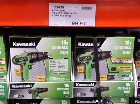Costco_Australia_Kawasaki_18V_Drill