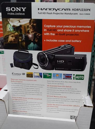 Costco_Australia_Sony_HDRPJ230PK_camcorder