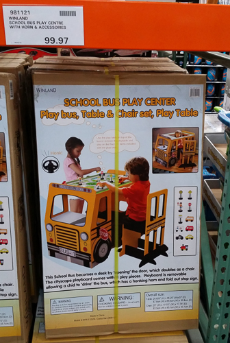 Costco_Australia_school_bus_play_centre