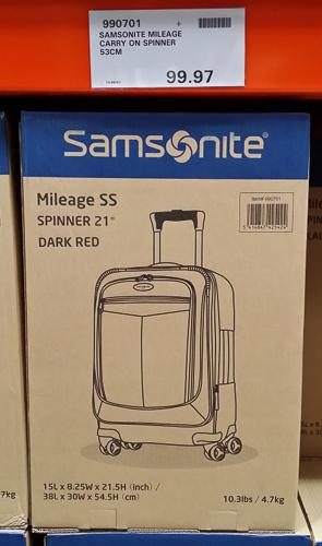 Samsoniite Milage Spinner