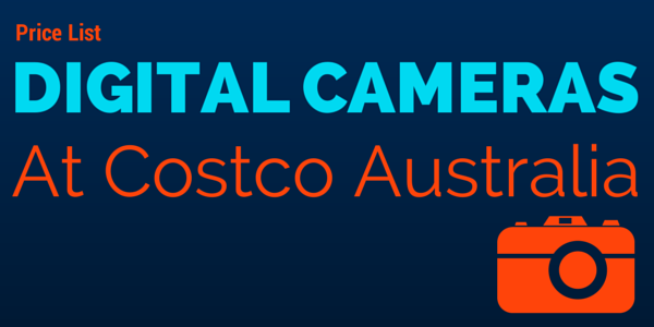 Digital Cameras Price List Header