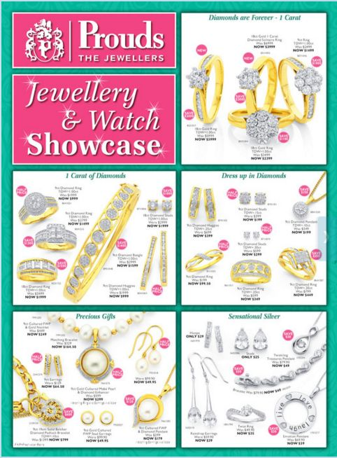 c4171ca9405 Prouds the Jewellers Catalogue