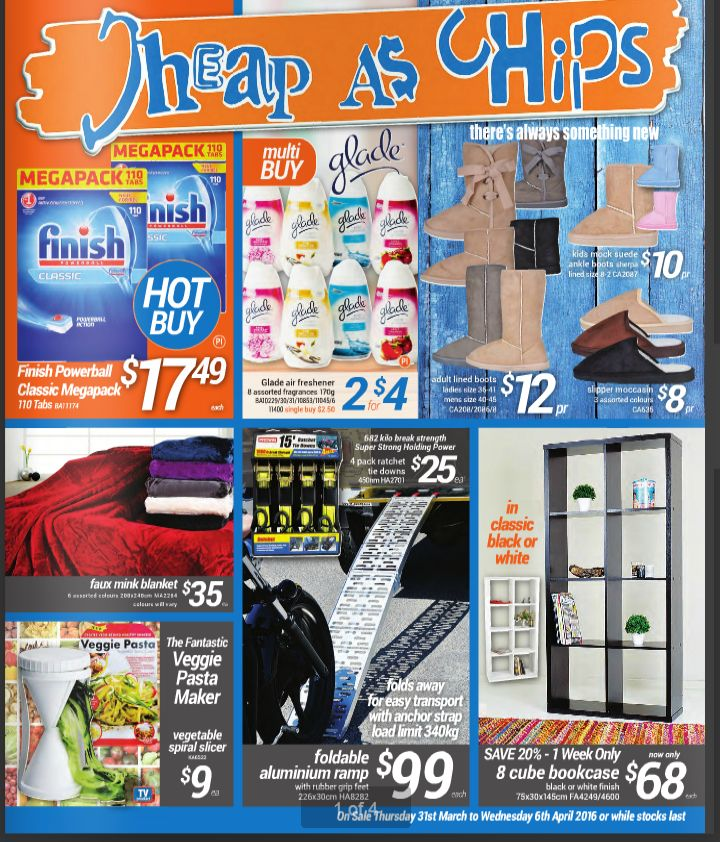 Cheap as Chips Catalogue