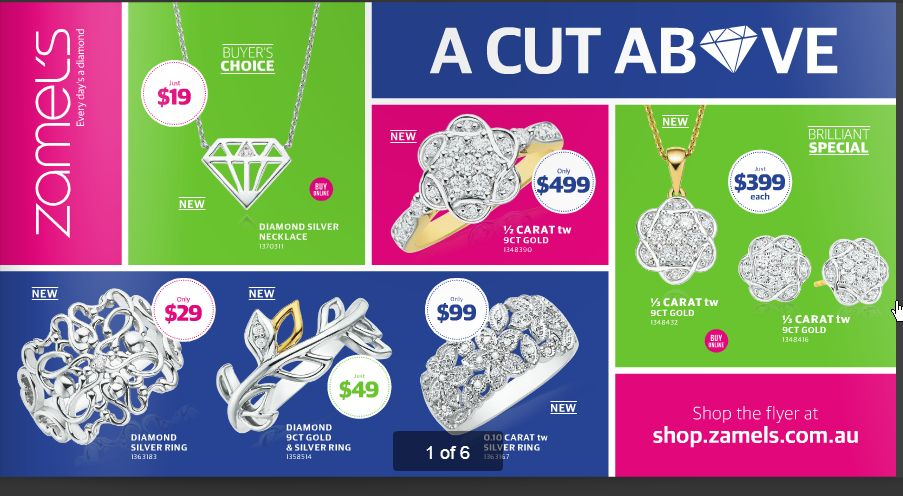 Zamel's Jewellers Catalogue